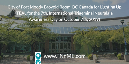 City of Port Moody Brovold Room, BC Canada_LightUpTeal_TNnME