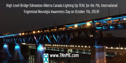 The High Level Bridge in Edmonton Alberta Canada_LightUpTeal4TN_TNnME