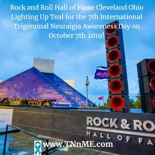 Rock and Roll Hall of Fame Cleveland Ohio_LightUpTeal4TN_TNnME