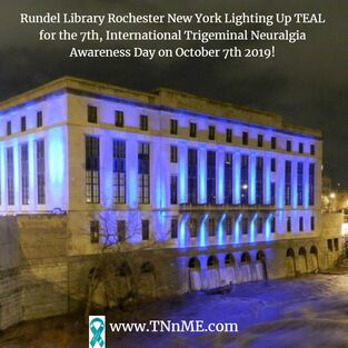 Rundel Library Rochester New York_LightUpTeal4TN_TNnME
