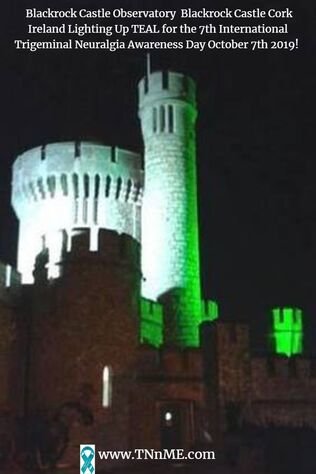Blackrock Castle Observatory  Blackrock Castle Cork Ireland_LightUpTeal4TN_TNnME