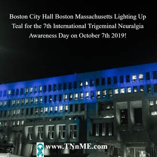 Boston City Hall Boston Massachusetts_LightUpTeal4TN_TNnME