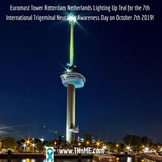 Euromast Tower Rotterdam Holland Netherlands_LightUpTeal4TN_TNnME
