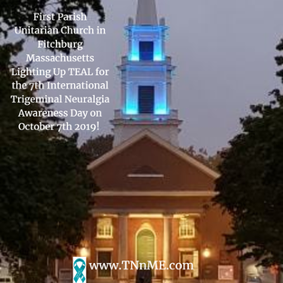 First Parish Unitarian Church in Fitchburg Massachusetts_LightUpTeal4TN_TNnME