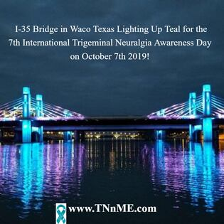 I-35 Bridge Waco Texas_LightUpTeal4TN_TNnME