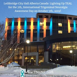 Lethbridge City Hall Alberta Canada