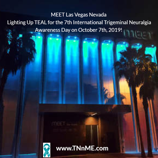 MEET Las Vegas Nevada Light Up Teal 4 TN TNnME