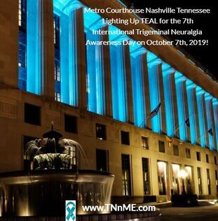 Metro Courthouse Nashville Tennessee Light Up Teal 4 TN TNnME