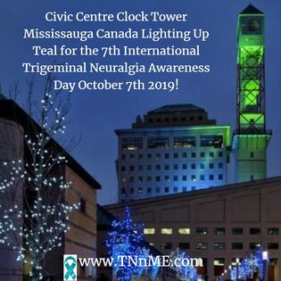 Mississauga Civic Centre Clock Tower Mississauga Canada_LightUpTeal4TN_TNnME