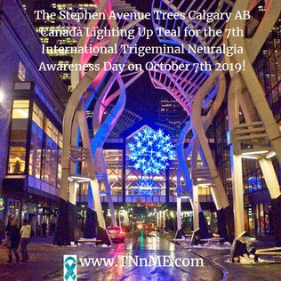The Stephen Avenue Galleria Trees Calgary AB Canada_LightUpTeal4TN_TNnME