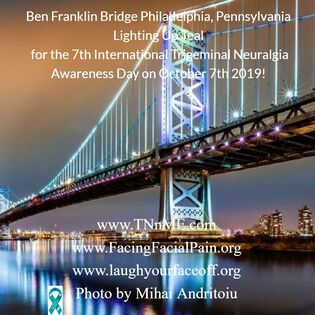 ​​​Ben Franklin Bridge Philadelphia, Pennsylvania United States_LightUpTeal4TN_TNnME