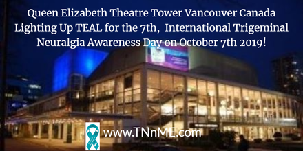 Queen Elizabeth Theatre Tower Vancouver Canada_LightUpTeal_TNnME