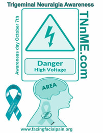 International Trigeminal Neuralgia Awareness Day October 7th, TNnME, Facial Pain Research Foundation
