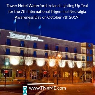 Tower Hotel Waterford Ireland_LightUpTeal4TN_TNnME